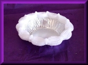 5 inch Wax Bridal Ring Pie Crust Edge