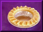 5 inch Wax Wavy Edge Pie Crust