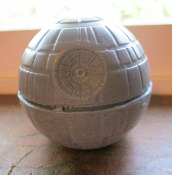 "Star Wars Death Star Soap, Glycerin Star Wars Soap, 2 1/2"" Dia"