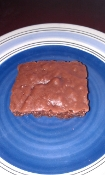 Brownie with Nuts in Milk Chocolate or Dark Chocolate