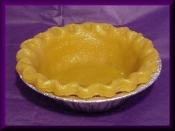 5 inch Wax Full Pie Shell Pie Crust