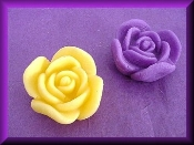 Wax Rose Bud Assorted Colors