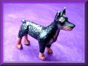 Doberman (Porcelain)