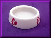 Dog Bowl large (porcelain)