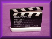 Hollywood Clap Board (Porcelain)
