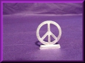 Pewter - Peace Sign
