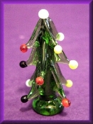 Christmas Tree Medium RND Glass Miniatures