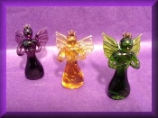 Praying Angels - Glass Miniature
