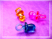 Baby Pacifier - Glass Mini