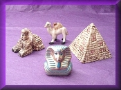 Egyptian Set (Porcelain) Miniature