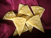 Wax Tortilla Chips, Individual Chips