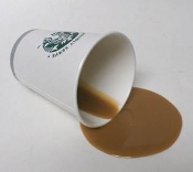 Fake Spill Spills - Starbucks Coffee Spills - Props Pranks