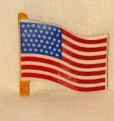 USA Flag (Porcelain)