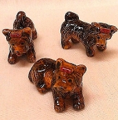 Yorkshire Terrier Set (Porcelain)