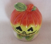 Pumpkin Miniature, Porcelain Mini Collectible Halloween Pumpkins